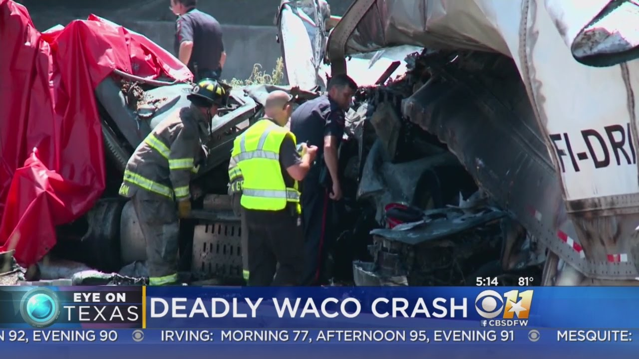 NB I-35 In Waco Open After Deadly Wreck