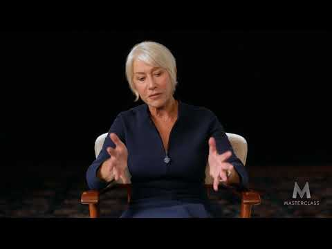 Helen Mirren's MasterClass: Actors can be painters