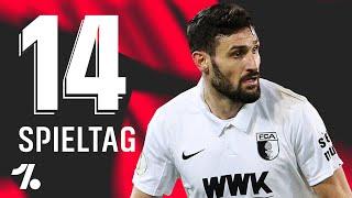 OneFootball Bundesliga Rückblick 14. Spieltag!  Daniel Caligiuri - Der Raphaël Guerreiro des FCA