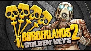 Borderlands 2 & Borderlands Pre-Sequel Golden Keys & Shift Codes 4 Codes in total July 6 2018