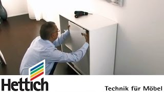 Retrofitting Slideline 55 Sliding Doors: Do-it-yourself With Hettich