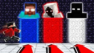 Do NOT Choose The Wrong Dimension in Minecraft at 3:00 AM! (Herobrine, Entity 303, Null)