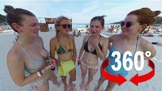 Die gefährliche Vollmond-Party von Ko Phangan I 360-Grad-Video I Thailand