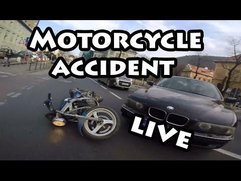 motor bike am facut accident motorcycle accident live on camera youtube. Black Bedroom Furniture Sets. Home Design Ideas