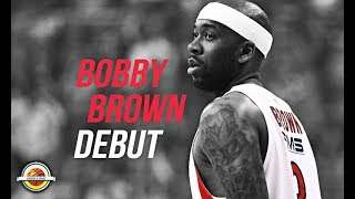 Bobby Brown ● Official Debut For Olympiacos B.C. ● Full Highlights vs Panathinaikos ● 2/3/18 - HD
