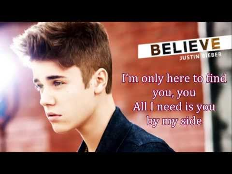 Justin Bieber - One Love Karaoke HD