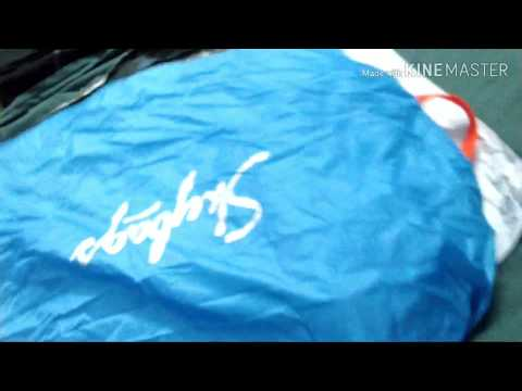 Unboxing the skybag komet 49 litre laptop backpack SBKOM01BLU - in Gujarati language