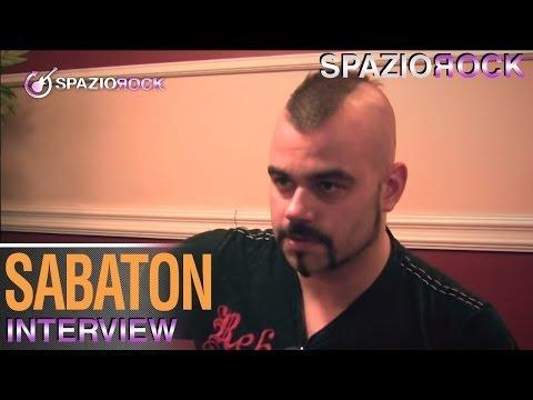 Sabaton - Interview with Joakim Brodén