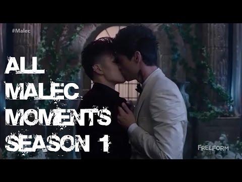 All Malec Moments - Season 1