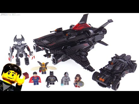 LEGO Justice League Flying Fox Batmobile Attack review! 76087