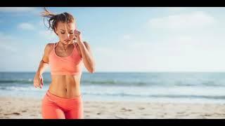 Спорт девушки/Музыка/Мотивация/Бег на пляже #спорт#мотивация#sportmotivation