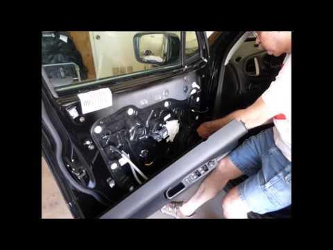 2016 Jeep Renegade Front Door Speaker Upgrade Youtube