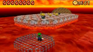super mario 64 DS - parte 33: 100 monedas del infierno & laberinto
