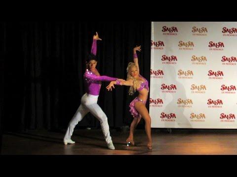 Argentina Salsa Open 2013 ~ Show de la Elimin. Mendoza ~ Karen Forcano & Ricardo Vega (salsa)