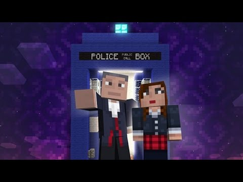 Minecraft: Doctor Who SKIN PACKS! Xbox 360 & PS3 - Coming September!