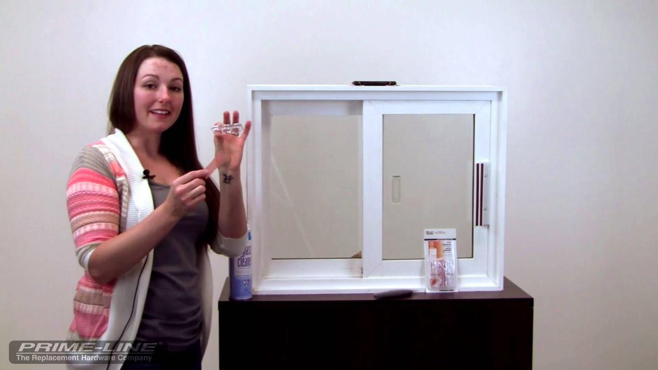 How To Install Prime Lines Clear Lucite Patio Door Lock Youtube
