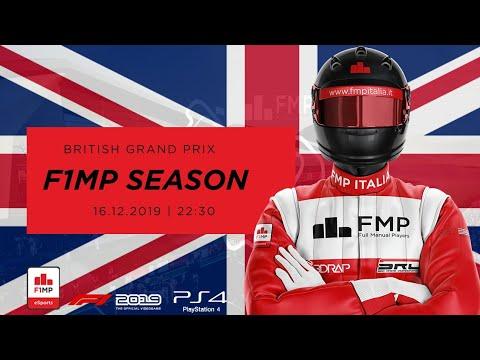 F1MP | OPENING SEASON #10 | BRITISH GRAND PRIX FMP ITALIA