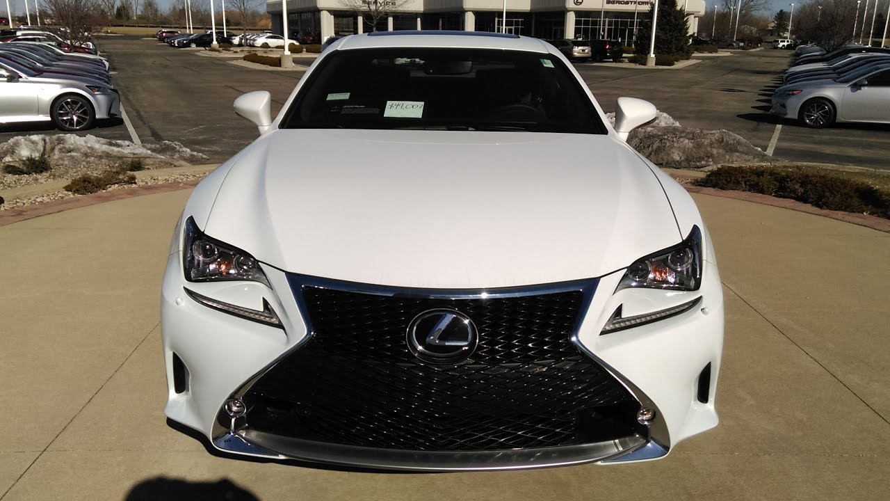 2017 Lexus Rc 300 F Sport Demo Review