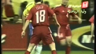 ملخص مباراة البرازيل ـ تركيا نصف نهائي مونديال 2002 م تعليق عربي