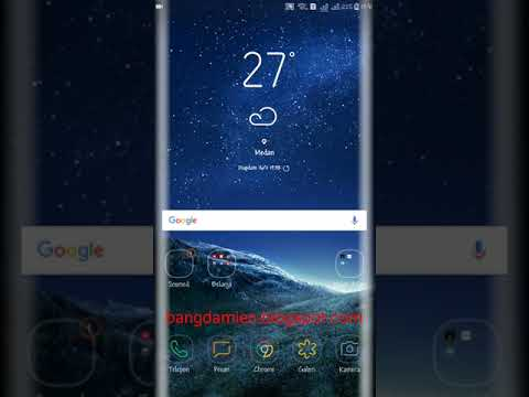 Membuat Tema Berbayar Menjadi Permanen di HP Samsung J7 Pro Tanpa Root