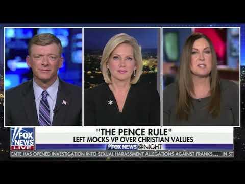 The Pence Rule - Leslie Marshall on Fox News at Night 12/7/17