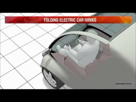 HIRIKO - Folding Electric Smart Car