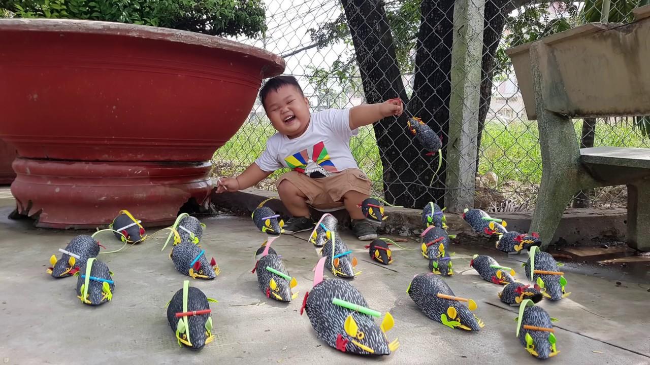 Trò Chơi Song Con Chuột ❤ ChiChi ToysReview TV ❤ Đồ Chơi Trẻ Em Baby Doli
