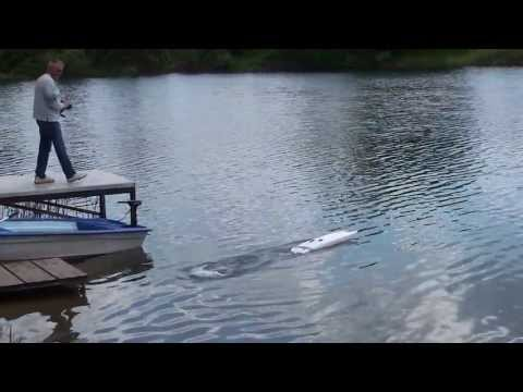 RC Boat HPR 06 With TP Power (maiden Run With 150 Km/h)