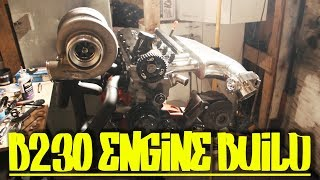 Volvo B230 Engine Build