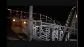 Roller Coaster Crash Scene