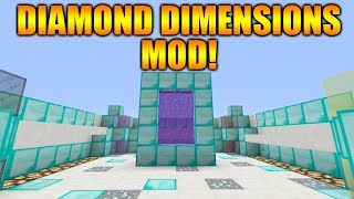 ★Minecraft Xbox 360 + PS3: The Diamond Dimensions MOD - Custom Portal + World Showcase★
