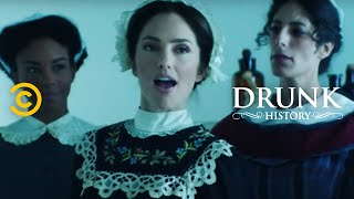Florence Nightingale Revolutionizes Nursing (feat. Minka Kelly) - Drunk History