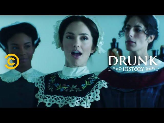 Florence Nightingale Revolutionizes Nursing (feat. Minka Kelly) - Drunk History