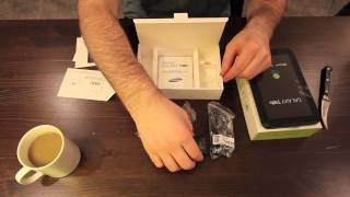 Samsung Galaxy Tab Unboxing (Bell Version)