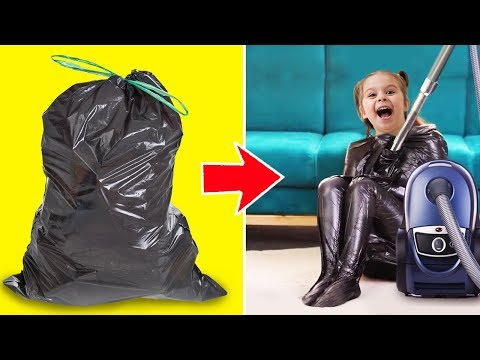 25 CRAZY CRAFTS WITH PLASTIC BAGS