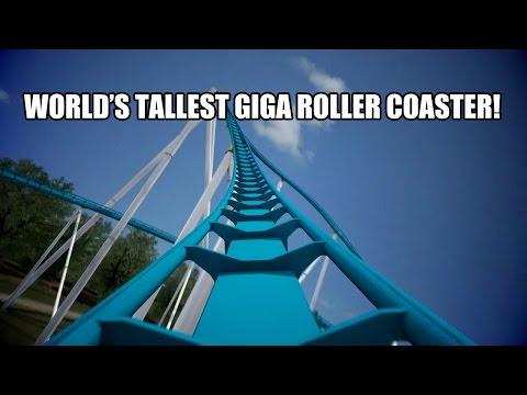 Fury 325 POV Worlds Tallest Giga Roller Coaster Carowinds 2015