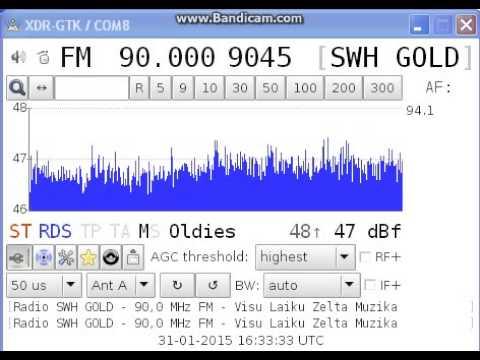 [local] 90,0 - Radio SWH Gold, Rīga, Latvia, 31st January, 2015