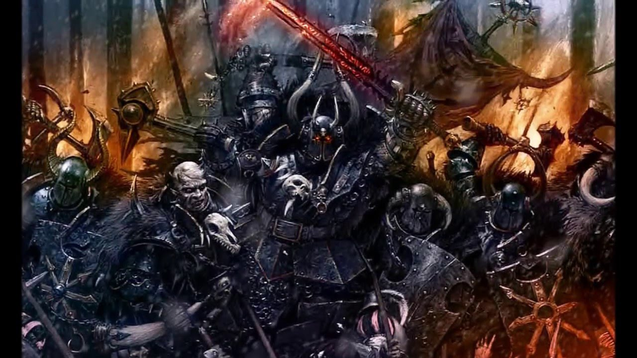 Image result for Warriors of chaos warhammer fantasy