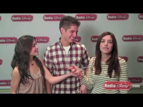 Danielle Campbell & Maggie Castle on Acting with Sterling Knight on Celebrity Take with Jake