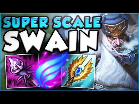 SURVIVE UNTIL 20 MINS AND ACQUIRE YOUR FREELO! SUPER SCALE SWAIN TOP GAMEPLAY! - League of Legends