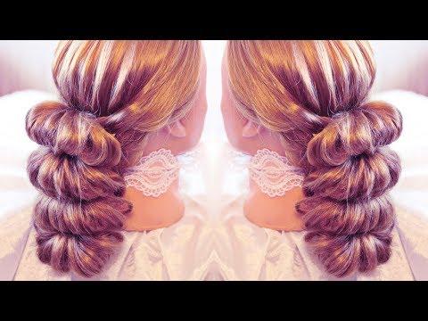 Причёска с помощью резинок - Красота! - 5