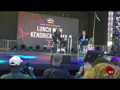 Kendrick Lamar Speaks at Forbes Under 30 Summit