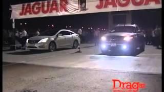 Hyundai GRANDEUR vs Infiniti FX35 - OFFICIAL DRAG RACING