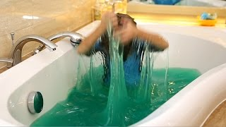 How To Swim in Slime Baff
