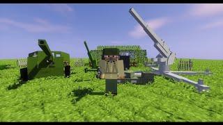 Майнкрафт. Мод на артиллерию в майнкрафте пе.