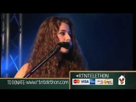 Telethon 2014 - Sofia Nicole Performance