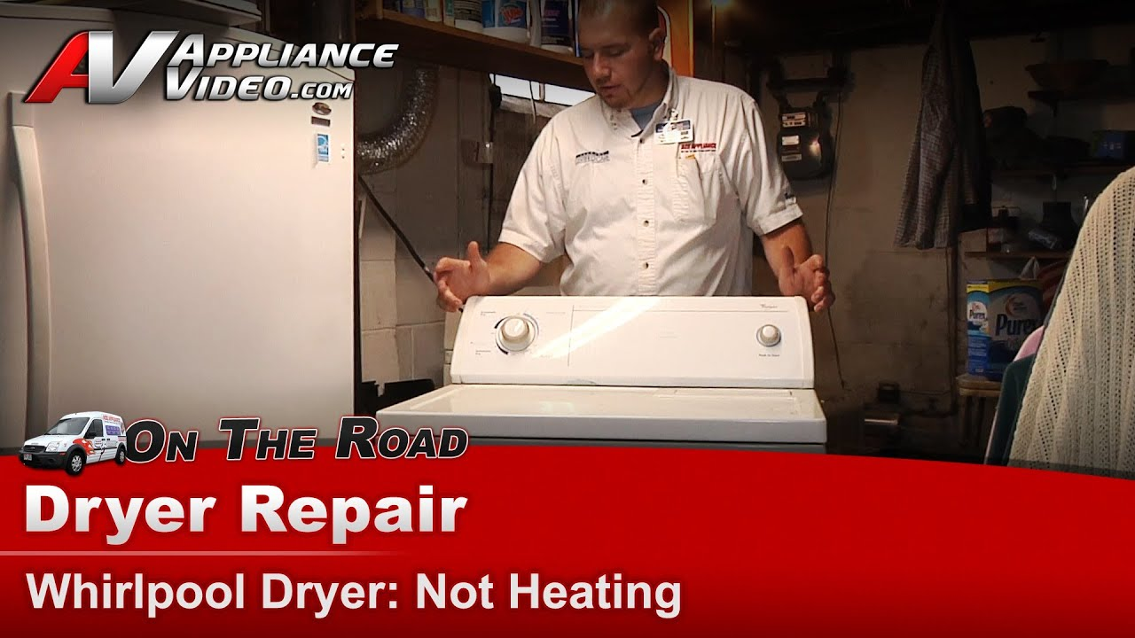 Whirlpool Dryer Repair Not Heating LGR Q1