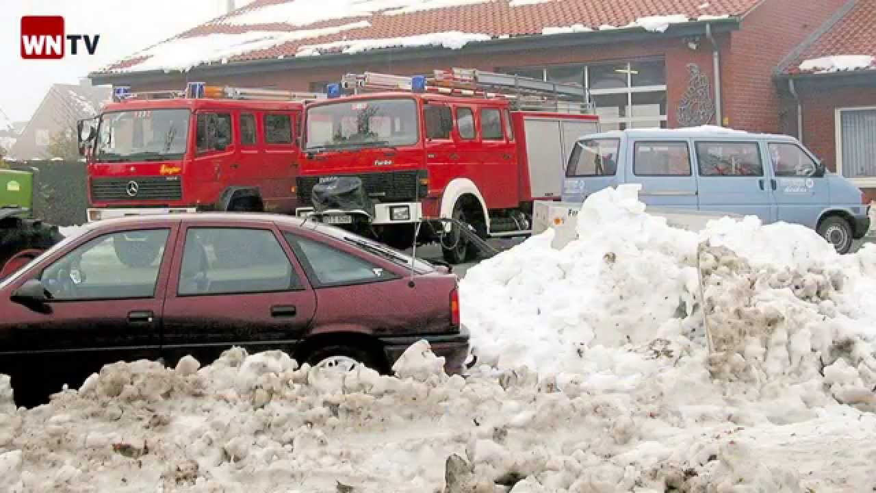 Schneekatastrophe Münsterland