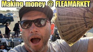 MAKE MONEY @ FLEAMARKET i buy and sell abandoned storage units for a living