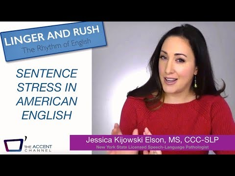 Sentence Stress in American English: Part 1 (Where to Emphasize)